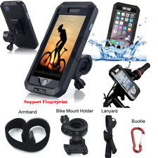 IMPERMEABILE Moto Bici Manubrio Mount Holder custodia per cellulare