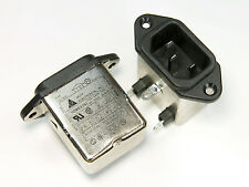 Delta 250V AC 10A 10ME (S) Noise Suppressor Power Entry EMI Filter 10 amp 115VAC