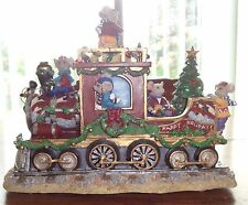 San Francisco Music Box Happy Holidays Musical Train – Brand New