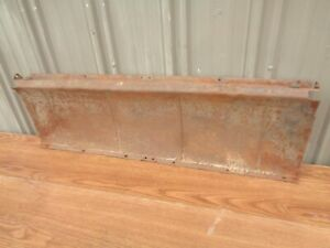 Ford Model A Roadster and Coupe Trunk Compartment Curved Inner Panel / Trunk OEM