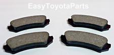 Land Cruiser Rear Brake Pads                              OEM Toyota 04466-60070