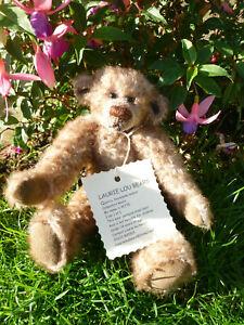 """Very Cute """"Alfie"""" just 1 of 1 Laurie Lou Bear"""