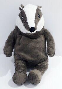 Ikea Plush gravling Badger Soft Toy No Jacket rare cuddly comforter