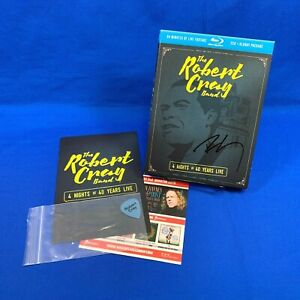 [SIGNED] 4 Nights of 40 Years Live Robert Cray Band | 2 Disc CD Set + 1 Blu-ray