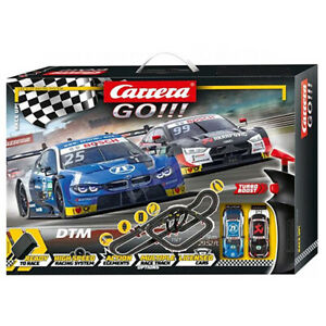 Carrera 62520 GO!!! Audi BMW DTM Race Up!  29.5 feet of track Set 1/43 Track Set