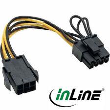 InLine Strom Adapter intern, 6pol zu 8pol für PCI-Express Grafikkarten