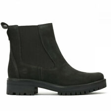Timberland Womens Black Courmayeur Valley Chelsea Boots