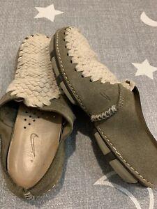 Nike Womans Considered Mule Hemp Classic Olive Birch Size 6 RARE Vintage Slip On