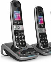 NEW TELSTRA Call Guardian 301 MK2 Qaltel CORDLESS HOME PHONE A/MACHINE 2 HANDSET
