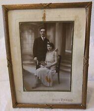 TRES BEAU cadre porte photo en bronze LOUIS PHILIPPE 19 èmes SIÈCLES N°19  TER