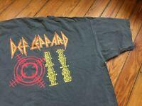 Def Leppard Tour Concert Band T Shirt 2006 Comfort Colors Men Size 2XL Rock