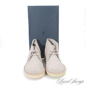 NIB #1 MENSWEAR Clarks Original Chukka Desert 38235 Sand Suede Desert Boots 11