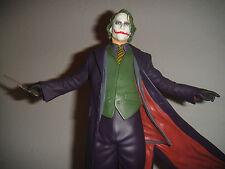 DC Comics The JOKER DARK KNIGHT BATMAN STATUE Heath Ledger MIB!! Rises  BATMAN