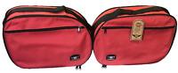 Pannier Liner Luggage Bags for HONDA VARADERO CBR100 VFR800 XL1000 TRANSALP Red
