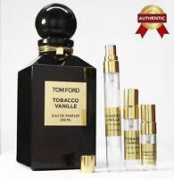 Tobacco Vanille Tom Ford EDP unisex perfume sample size 2~2.5~3~5~10ml