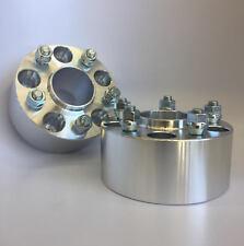 2X CUSTOM Wheel Spacers Adapters 5X114.3 5X4.5 1/2-UNF 70.3MM CB 3 INCH 75MM