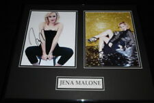 Jena Malone Signed Framed 16x20 Photo Display AW Sucker Punch
