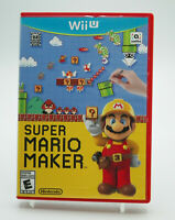 Super Mario Maker Nintendo Wii U Tested Free Shipping