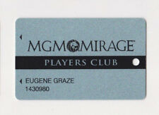 Players Slot Club Rewards Card The MGM Mirage many Casino locations