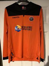 2013/2014 Sheffield United goalkeeper football shirt XL boys Macron Blades SUFC