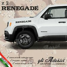Adhesives Jeep Renegade For The Bonnet Lateral