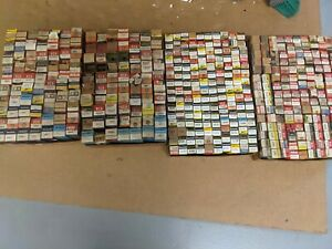 Lot of 440 vacuum tubes. RCA, GE, Sylvania Mixed lot