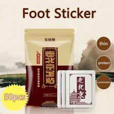 Foot Pads GOLD Detox Organic Herbal Cleansing Patches Hot