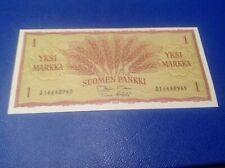 1 Finland Markka Banknote dated 1963 UNC
