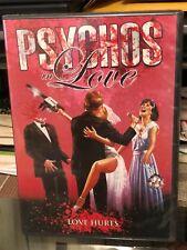 Psychos in Love (Dvd) Gorman Bechard, Carmine Capobianco, Debi Thibeault, New!