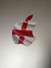 "England St George Flag Apple Logo Vinyl Decal Sticker for Apple MacBook 13"" 15"""