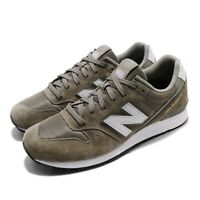 New Balance 996 Green White Gold Men Running Casual Shoes Sneakers MRL996PT D