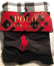 Authentic Polo Ralph Lauren  Two Stretch Pouch Boxer Briefs Size L