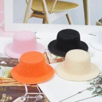1:12 Puppenhaus Miniatur Dame Puppen kleiner Hut in 6 Farben Heiß GAA