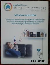 D-Link mydlink Home Music Everywhere Wi-Fi Extender DCH-M225/B -FREEPOST VAT INC