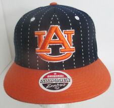 Auburn Hat Snapback Tigers University NCAA USA Wool Blend AU Zephyr Cap