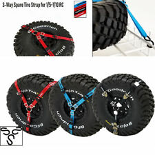 RC 3-Point Spare Tire Tie Down Strap For 1/5 1/10 Crawler Car Traxxas TRX-4 /UDR