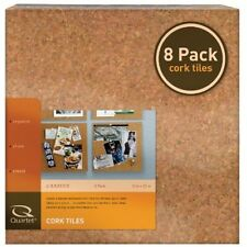 Cork Tiles 12x12 Square Bulletin Board Sheet Roll Wall Natural Adhesive Memo Pad