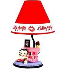 BETTY BOOP LAMP TALKING ON PHONE DESIGN  (RETIRED ITEM)