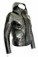 Men's 'GHOST PROTOCOL' Hooded Mission Impossible Black Real Leather Jacket