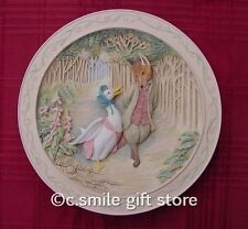 Beatrix Potter *JEMIMA PUDDLE-DUCK* Bradford Exchange 3D plate & Book MIB & COA