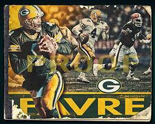 "Brett Favre Photo Print Poster, Green Bay Packers Poster 16"" x 20"""