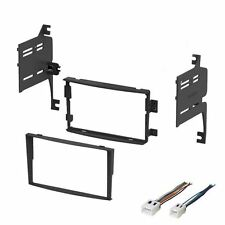 2006 2007 2008 For Nissan 350Z Dash Kit Double Din for Stereo Install With Wire