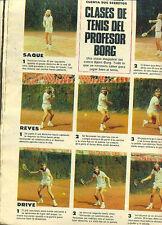 TENNIS BJORN BORG Teaching to Play ARGENTINA Magazine