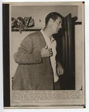 Original 1960 Ted Williams Retires Wire Photo