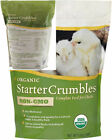 Manna Pro Organic Starter Crumble Complete Feed | Made with 19% Protein,...