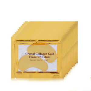 10 Pair Under Eye Mask Anti Aging Collagen Gold Eye Patch Wrinkle Bag Remover