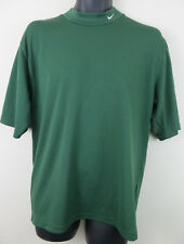 Mens Nike Polo Fitted Shirt Top T-Shirt Tee Dri-Fit Green Sports Skins M Medium