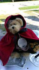 "Boyd'S Bears Bailey Little Red Riding Hood - 8"" Original tags"