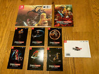 Hyrule Warriors Age of Calamity EU Bonus Poster, Notebook and Artcards no game