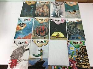 Dept. H Depth Lot 17 Dark Horse Comics Kindt 1st Prints #1-10 12-15 18-20